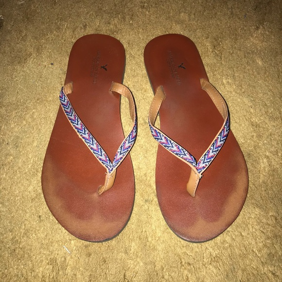 07bd7964b American Eagle Outfitters Shoes - 🌻SALE🌻 American Eagle Leather Flip Flops